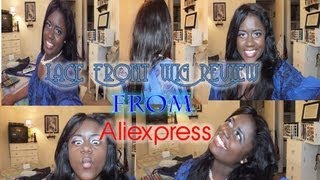 Aliexpress: Lace Front Indian Remy Body Wave Wig 1 1/2 Month Review