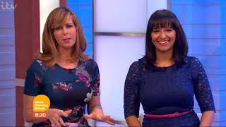 Kate Garraway & Ranvir Singh GMB October 2015