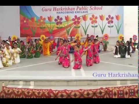 National Integration Dance by The Students of GHPS Hargobind Enclave Delhi - 110092