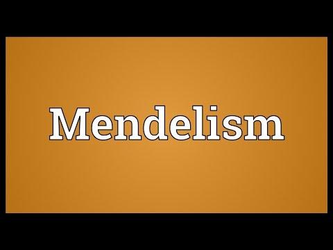 Header of Mendelism