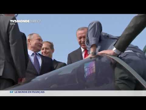 syrie-:-rencontre-en-vladimir-poutine-et-son-homologue-turc