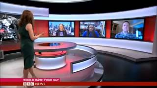 Emily Rice on BBC News - World Have Your Say - South Sudan & Space
