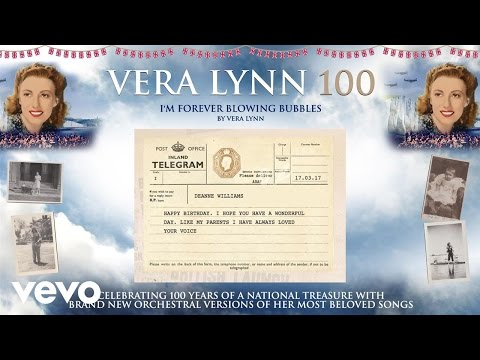 Vera Lynn - I'm Forever Blowing Bubbles (Telegrams Video)