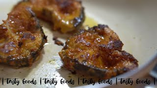 FISH FRY in 1 tbsp of oil | fish fry masala | easy way of making rohu fish fry | tasty foods | 4k