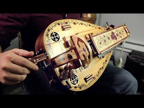 The Hurdy Gurdy (medieval wheel instrument)