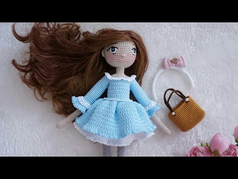 Amigurumi crochet doll - Romantic ballerina with purple lace tutu ... | 360x480