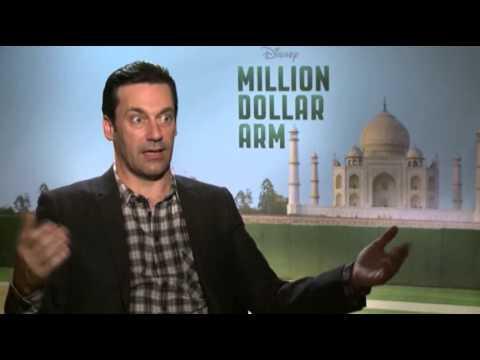 "Hamm on Baseball and His ""Million Dollar Arm"""