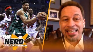 Broussard on Lakers' strength & superstar Dame, concerned about Bucks & Zion | NBA | THE HERD
