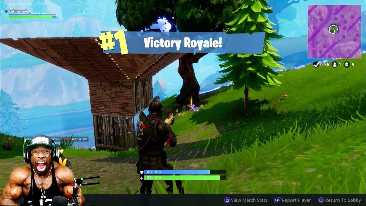 MY SEVENTH #1 SOLO WIN: Fortnite Battle Royale - YouTube