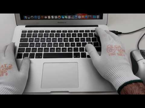 MacBook Air Clean Up 💓 ASMR typing & mouseclicks