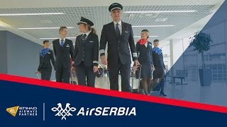 Air Serbia Close-Up