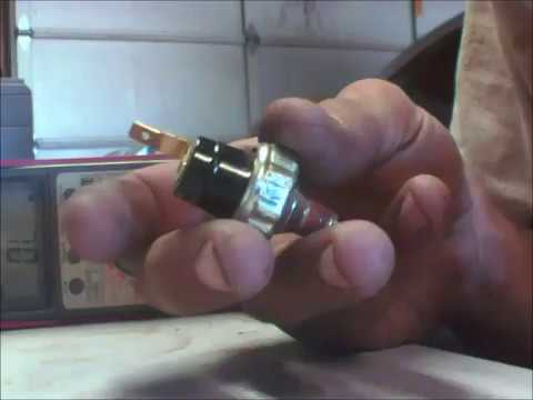Pressure Brake Light Switch Test