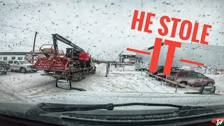 My Trucking Life | HE STOLE IT! | #1641