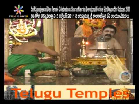 Sri Rajarajeswari Devi Temple Sharan Navratri Pooja 3 At Mehdipatnam 9th Day