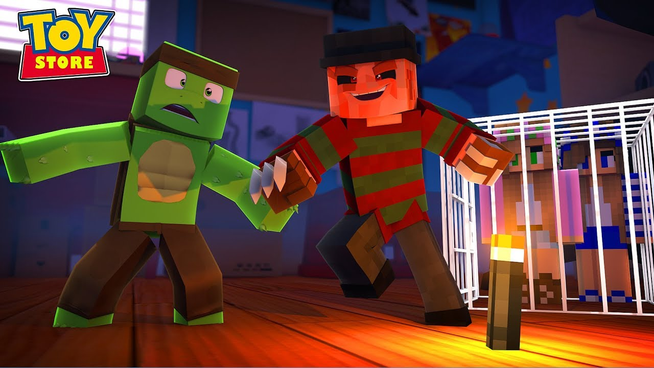 TINY TURTLE FIGHTS FOR LITTLE KELLY'S LIFE !!! Minecraft ...