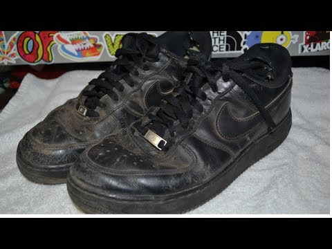CRAZY AF1 RESTORATION!!!   TRASH TO NEW