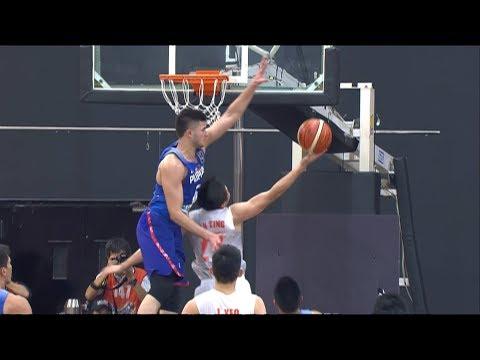 Kobe Paras' NASTY BLOCK On Malaysia's Chun Ting (VIDEO) SEA Games 2017
