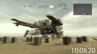 アーマードコア ACfA RTA 25:29.88 【Any% Defense Ending】
