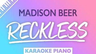 Madison Beer - Reckless (Karaoke Piano)