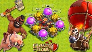 LES HDV 10 SONT-ILS VICTIMES DE MOI ?! | Troll GDC | Clash of Clans