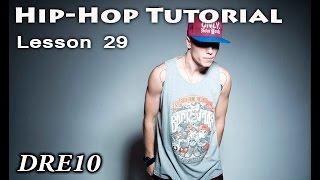 Видео уроки танцев / HIP-HOP DANCE TUTORIAL/ Харизма в танце / Dre10/