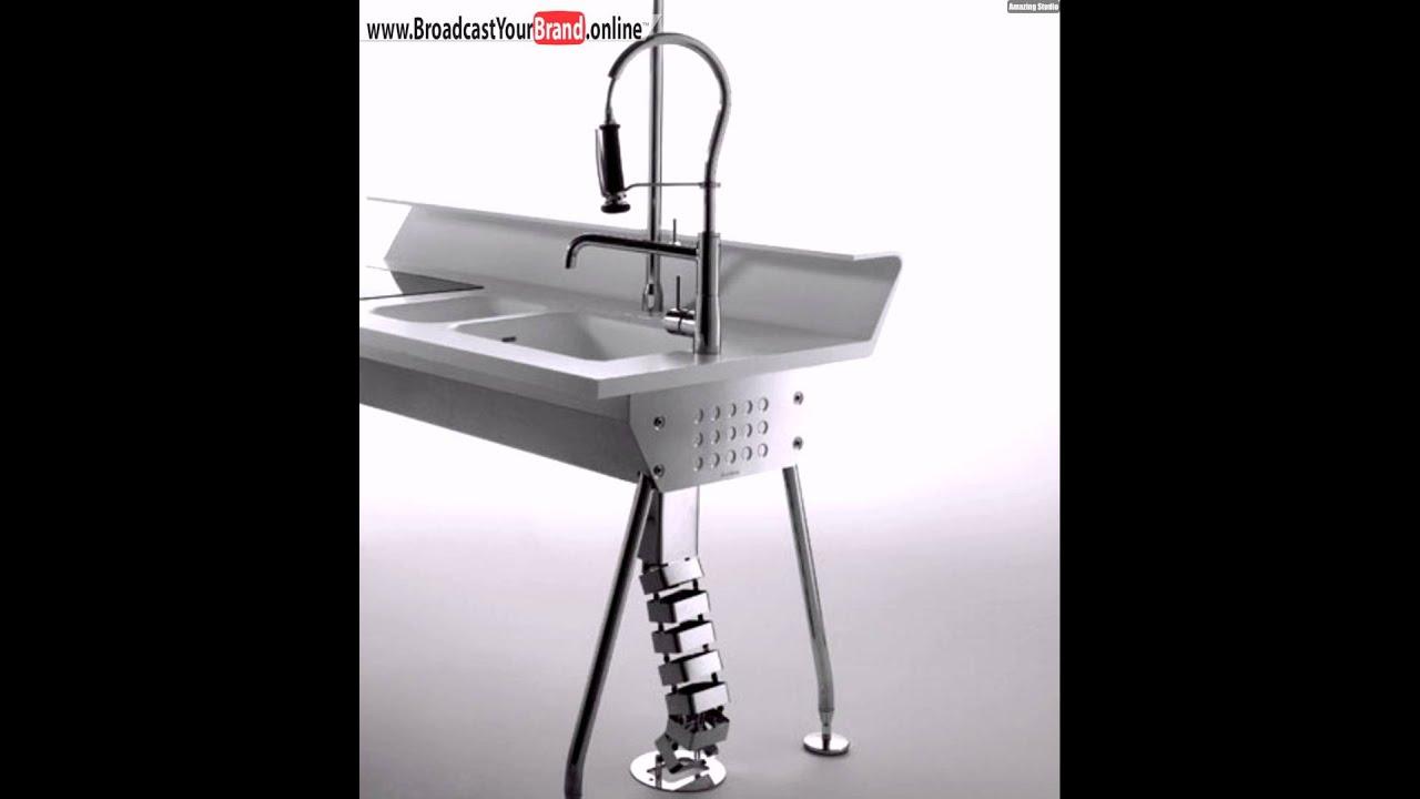 Stahl Beine Solaris Küchen Design Ernestomeda