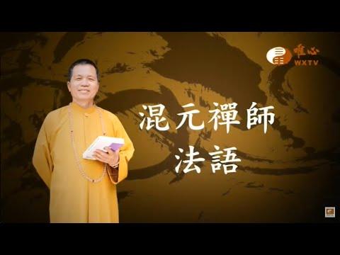 大門篇-住家有大樹應注意【混元禪師法語20】| WXTV唯心電視台