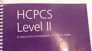 Overview of the HCPCS book