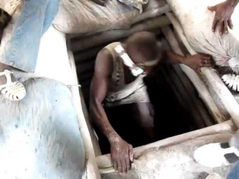 Illegal Mining Shaft