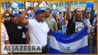 Nicaragua police clash with protesters urging president to quit