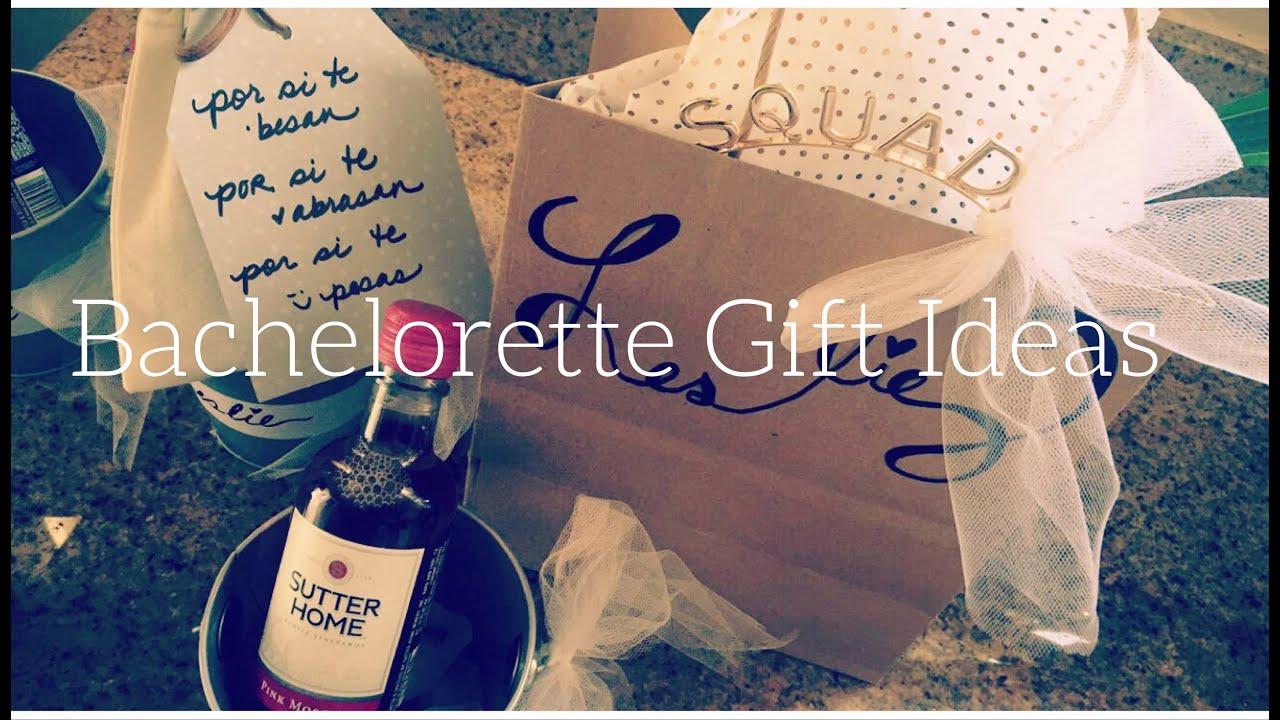 DIY- Bachelorette Gift Ideas - YouTube