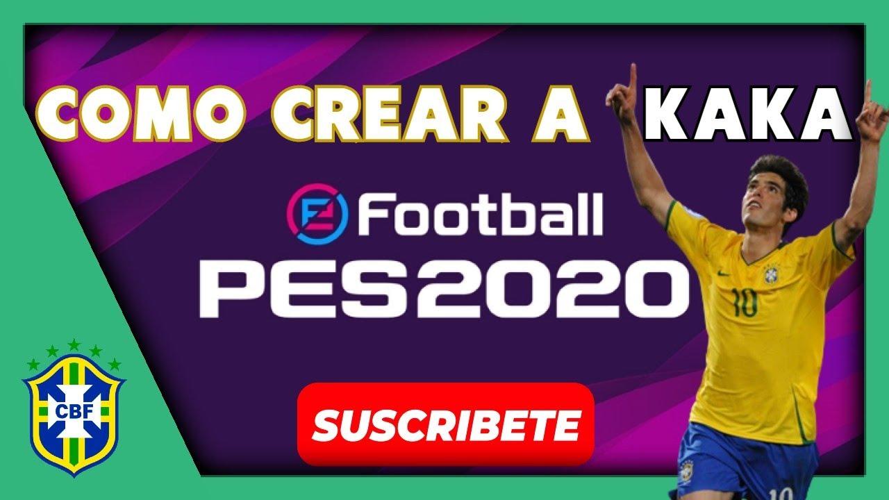 TUTORIAL COMPLETO | COMO CREAR A KAKÁ EN PES 2020 | HOW TO CREATE | FACE & STATS | TALOS