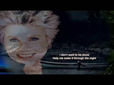 Anne Murray + Help Me Make It Through The Night +Lyrics/HD