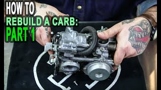 EASIEST Carburetor Rebuild for Honda Shadow: Part 1 of 4