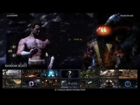 Mortal Kombat X Online Matches  pt. 22 Johnny Cage vs Scorpion