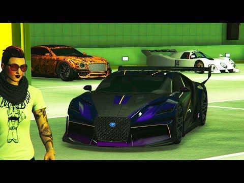 GTA Online - All Diamond Casino Cars  Max Upgraded + Penthouse Parking Garage