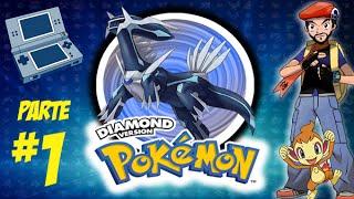gameplay - Pokémon diamond -  nintendo DS part 1