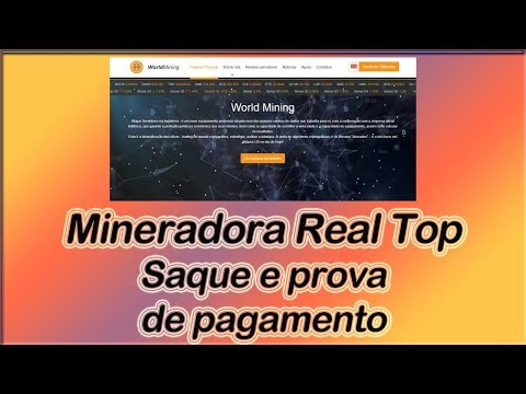 World Mining - Mineradora Real - Review, saque e prova de pa