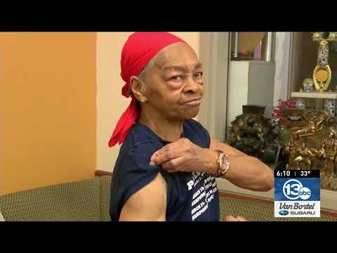C-Rob Blog (58472) - Award-Winning, 82-Year-Old Lady Bodybuilder Beats Up Home Intruder