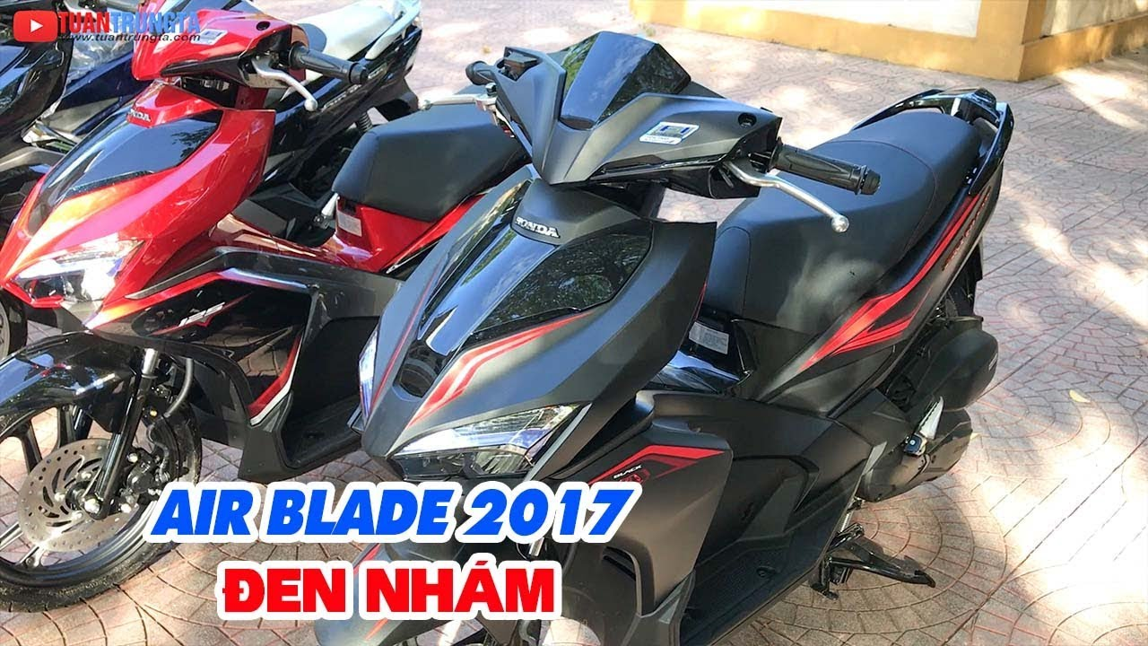 Giá xe Honda Air Blade 2017 Đen Nhám ▶ Tại sao cao?