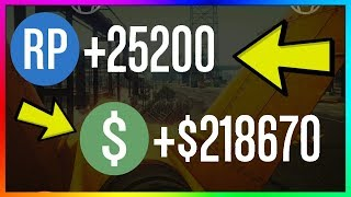 How To Make $218,670 & 25,200 RP PER GAME in GTA 5 Online | NEW Best Unlimited Money Guide/Method
