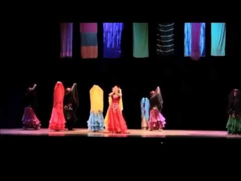 how to do belly dance choreography