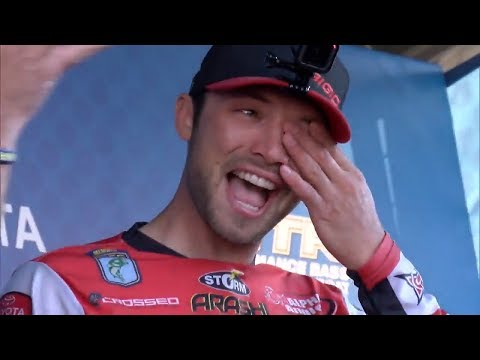 Brandon Palaniuk's emotional Angler of the Year winning speech