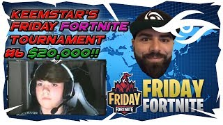 "TEAM SECRET *BANNED*! KEEMSTAR's $20k FRIDAY FORTNITE HIGHLIGHTS! #6 13 YEAR OLD ""Mongraal"" WINS!"
