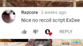 La rouille Est Noface à l'aide de Scripts avec L'AK? (La Main Cam)