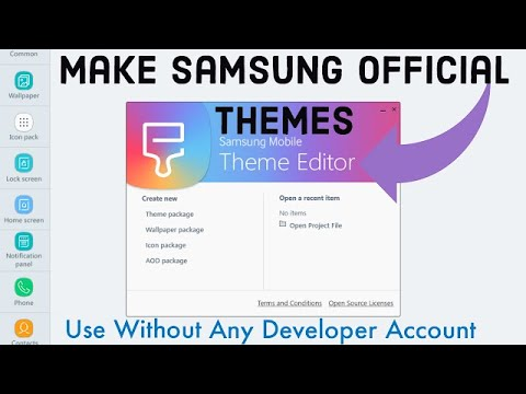 How To Make Samsung Official Themes Without Any Developer Account 2020