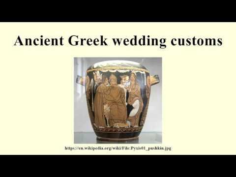 Ancient Greek wedding customs