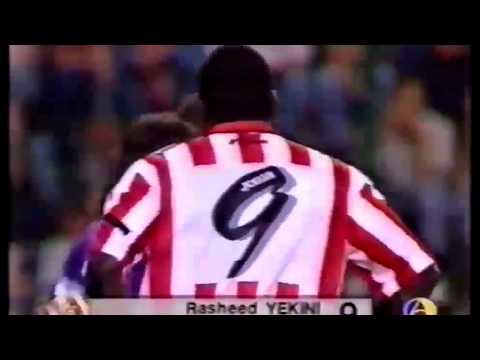 RASHIDI YEKINI DESTROYS REAL MADRID STARS