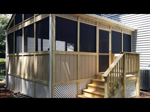 Coastal Outdoor Spaces - Sunroom, Decks, Fencing, Porch - Annapolis, Baltimore, Anne Arundel County