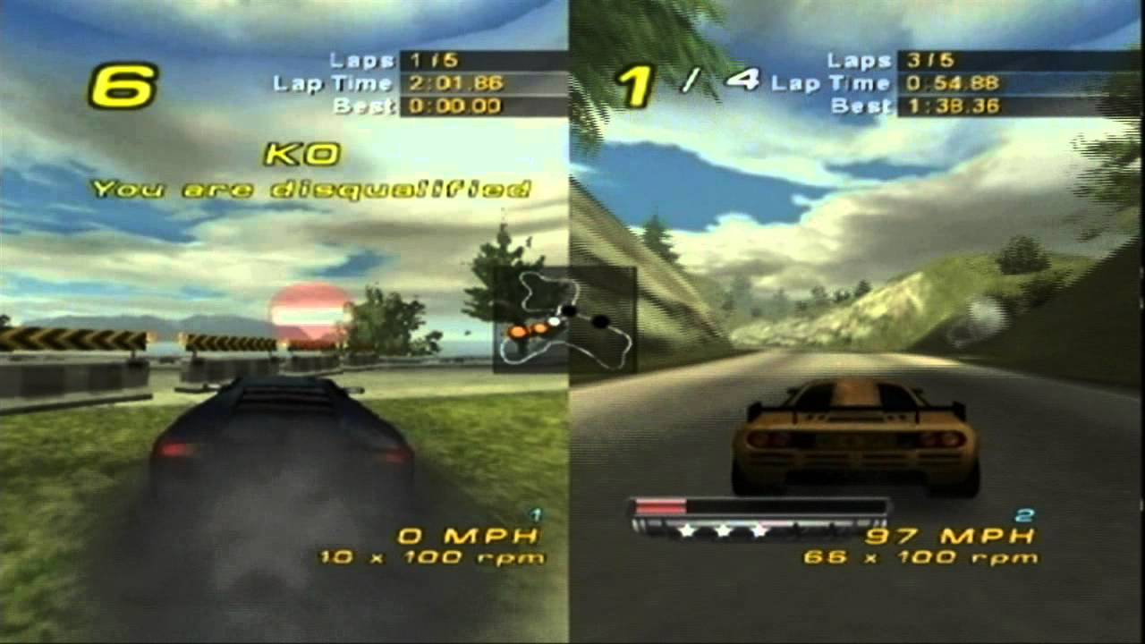 Need For Speed Hot Pursuit 2 Multiplayer Lap Knockout Xbox Youtube